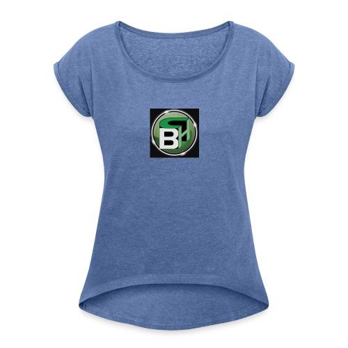 BC - Vrouwen T-shirt met opgerolde mouwen