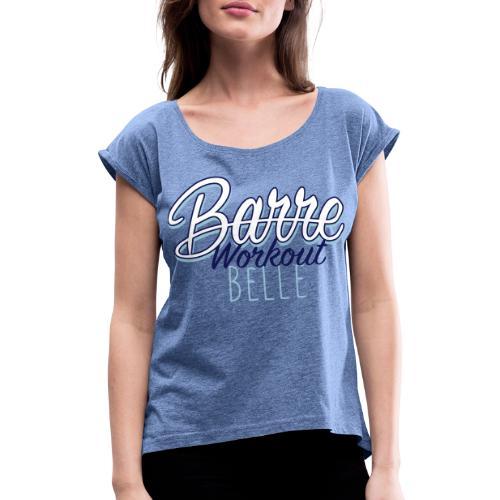 Barre Workout color - Maglietta da donna con risvolti
