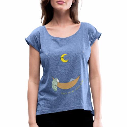 This is my Lucky Star - Frauen T-Shirt mit gerollten Ärmeln