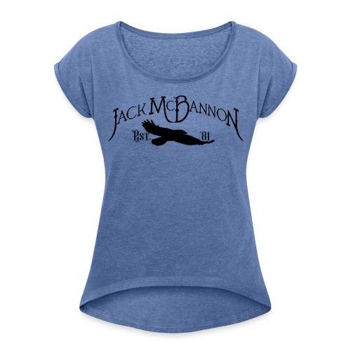 Jack McBannon - Crow 81 II - Frauen T-Shirt mit gerollten Ärmeln