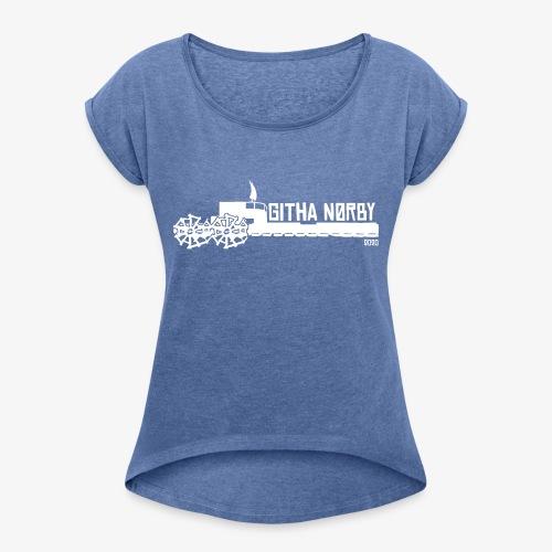 Githa Nørby - Dame T-shirt med rulleærmer