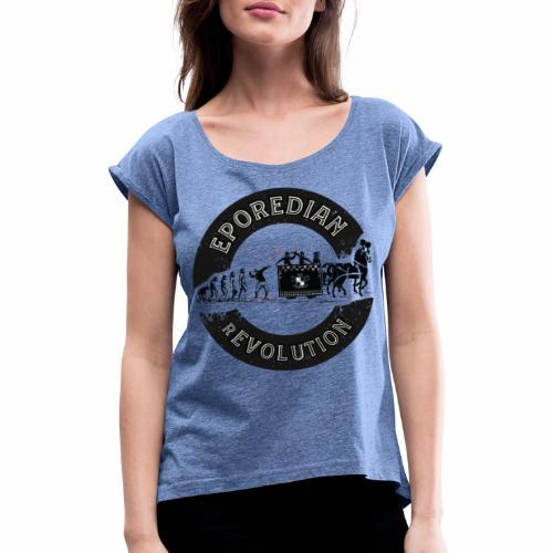 EPOREDIAN rEVOLUTION - Maglietta da donna con risvolti