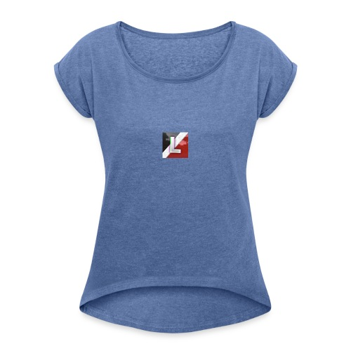 Hoesje Iphone5 - Women's T-Shirt with rolled up sleeves