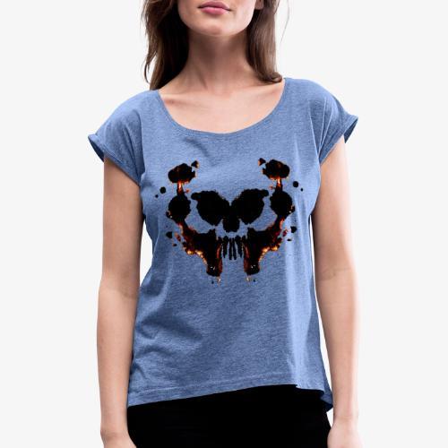Logo Borderlines Boutique - T-shirt à manches retroussées Femme