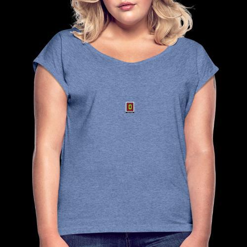 image - T-shirt à manches retroussées Femme