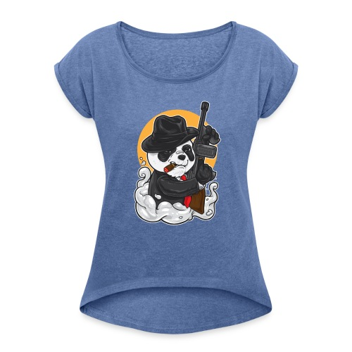 GAMER - T-shirt à manches retroussées Femme