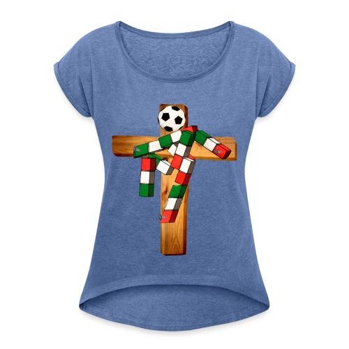 Passione Italiana - Maglietta da donna con risvolti
