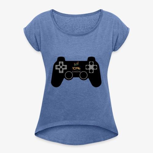 101%GAMING - T-shirt à manches retroussées Femme
