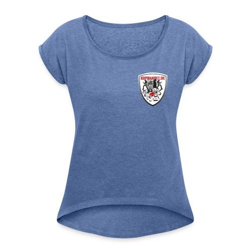KopiBandet.DK Logo - Dame T-shirt med rulleærmer
