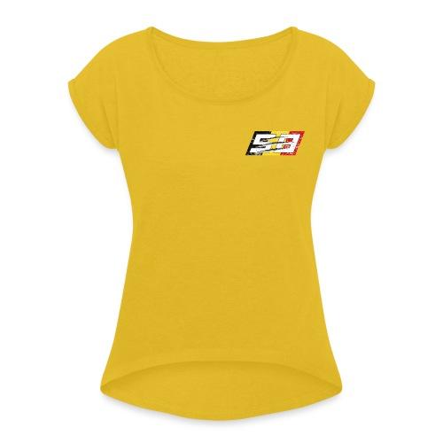#58 - Eye of the Tiger - T-shirt à manches retroussées Femme