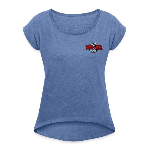 rock n roll - T-shirt à manches retroussées Femme