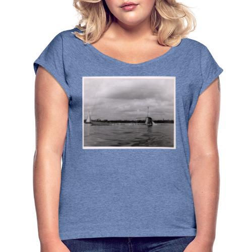 U-Boot U 7 - Camiseta con manga enrollada mujer