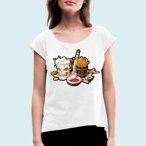 Arr menù - Maglietta da donna con risvolti