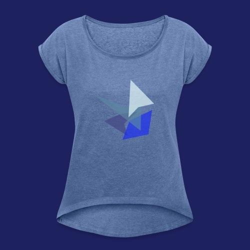 Shard - Dame T-shirt med rulleærmer