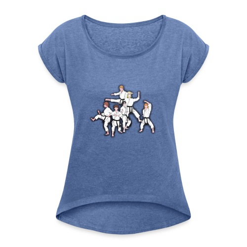 Karate - Women's T-Shirt with rolled up sleeves