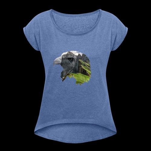 AQUILA - Maglietta da donna con risvolti