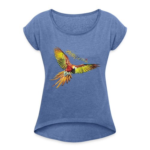 Perrot Only By ZzoozZ - T-shirt à manches retroussées Femme