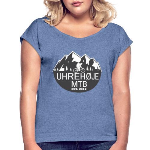 UhreHøje MTB - Dame T-shirt med rulleærmer