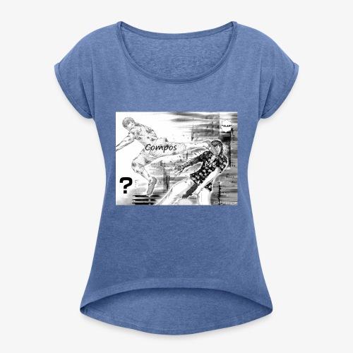 Gto compos - T-shirt à manches retroussées Femme