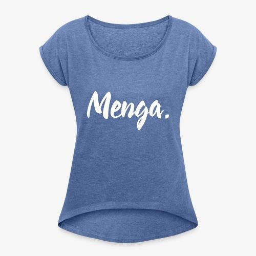 Menga. - Maglietta da donna con risvolti
