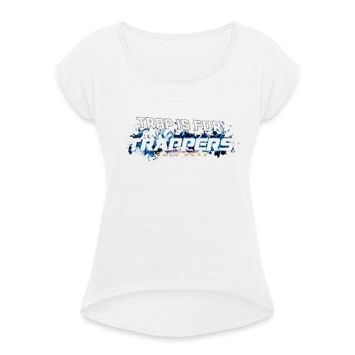 EDICIÓN TRAPPERS X GOLD GUNS - Camiseta con manga enrollada mujer