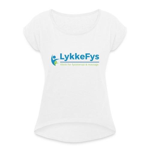 Lykkefys Esbjerg - Dame T-shirt med rulleærmer