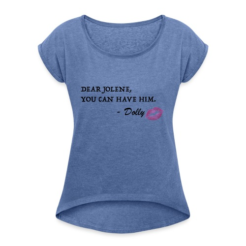 Jolene2 - Women's T-Shirt with rolled up sleeves