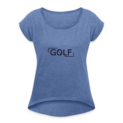 vague - T-shirt à manches retroussées Femme