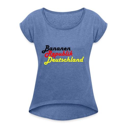 BRD #1 - Frauen T-Shirt mit gerollten Ärmeln
