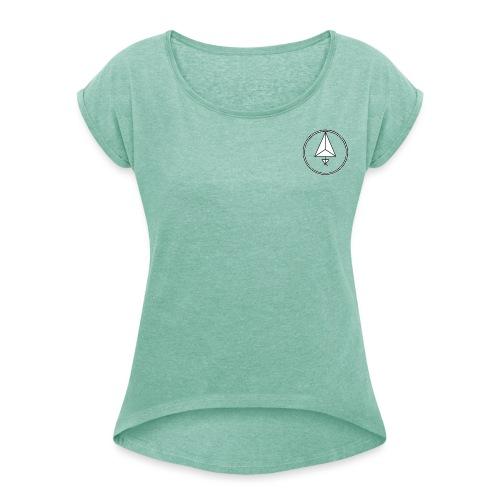 HEMOGENESIS - Vrouwen T-shirt met opgerolde mouwen