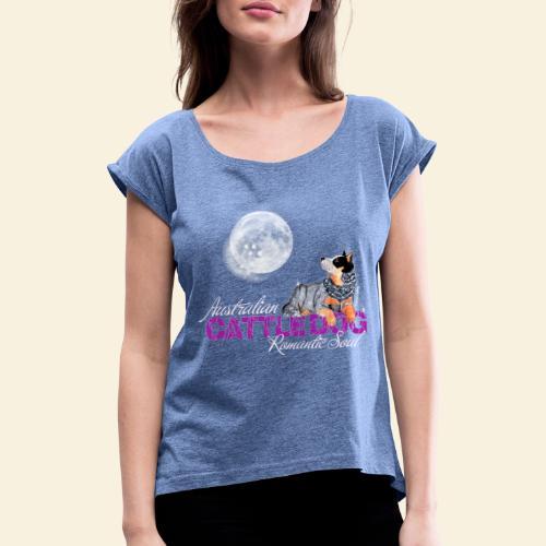ACD Romantic Pink - Maglietta da donna con risvolti