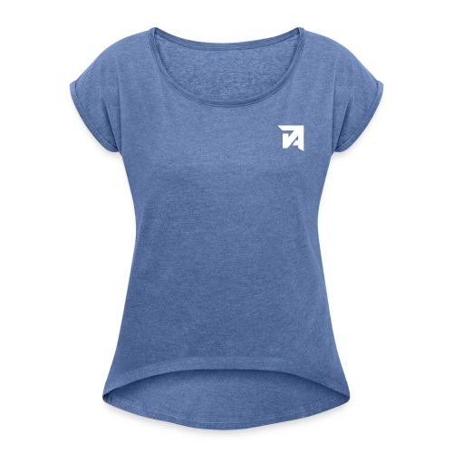 Jamille - Women's T-Shirt with rolled up sleeves