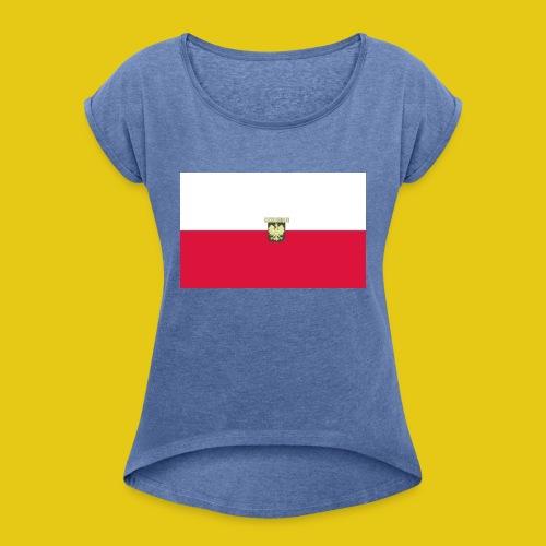 RODZINA RODZINA - T-shirt à manches retroussées Femme