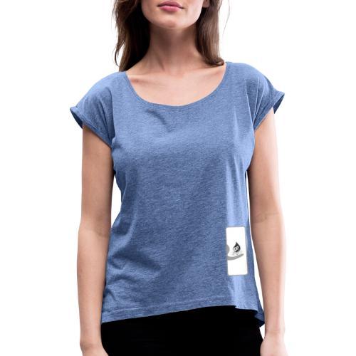 besancon25 logo NET - T-shirt à manches retroussées Femme