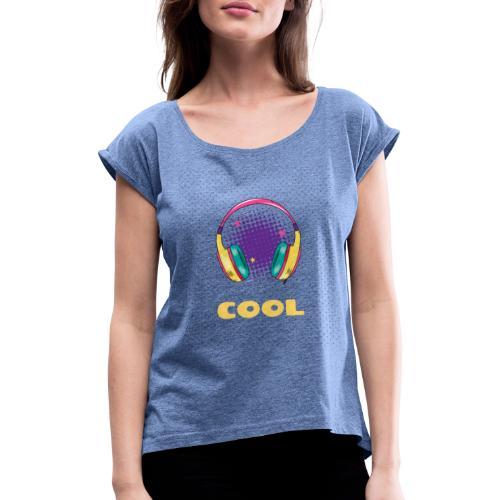COOL - T-shirt à manches retroussées Femme