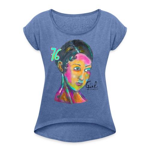 Accroche coeur 19 - T-shirt à manches retroussées Femme