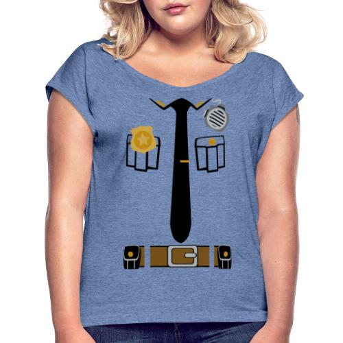 Police Patrol - Women's T-Shirt with rolled up sleeves