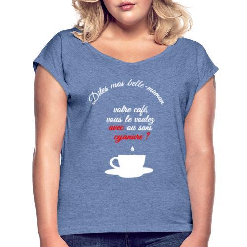 belle maman - T-shirt à manches retroussées Femme