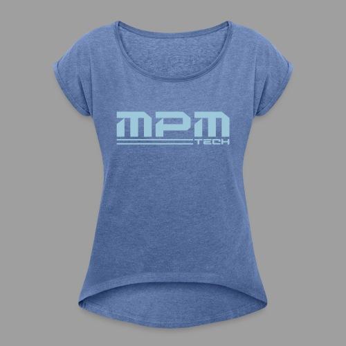 LOGO MPM (1) - Maglietta da donna con risvolti