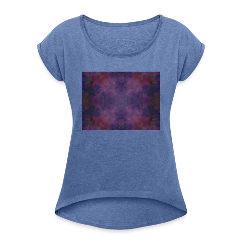 Mandala vibration La Paix - T-shirt à manches retroussées Femme