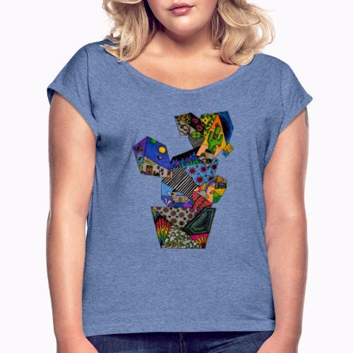 CACTUS - T-shirt à manches retroussées Femme
