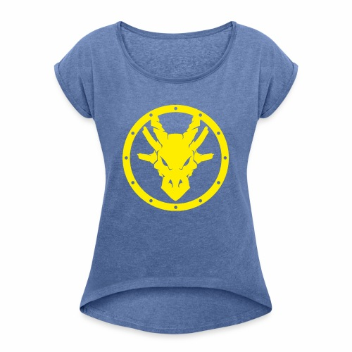 runefest - Camiseta con manga enrollada mujer