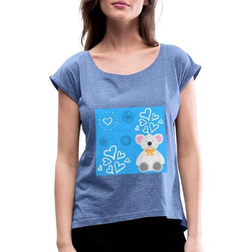 I LOVE ORSETTI - Maglietta da donna con risvolti