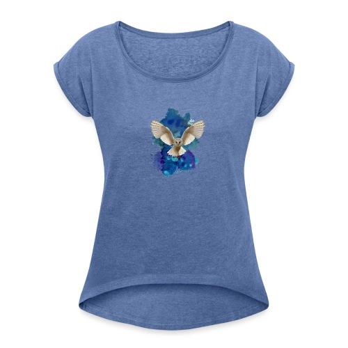 Tyto - Maglietta da donna con risvolti