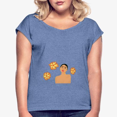 Beauty - T-shirt à manches retroussées Femme