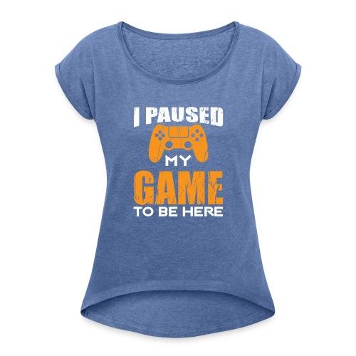 PNG 2 - Maglietta da donna con risvolti