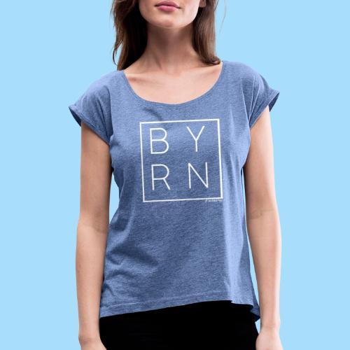 BAYERN - Frauen T-Shirt mit gerollten Ärmeln