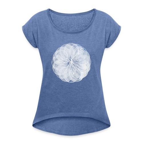 by Marianne Grønnow - Dame T-shirt med rulleærmer