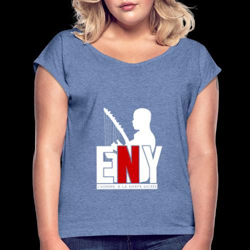 11 - T-shirt à manches retroussées Femme
