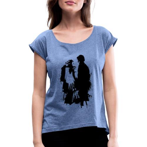 some great reward - T-shirt à manches retroussées Femme